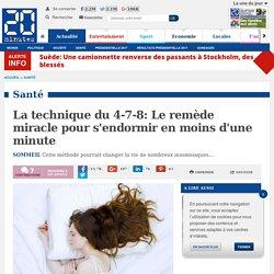 La technique du 4-7-8: Le remède miracle pour s'endormir en moins d'une minute