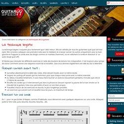 La technique legato à la guitare - Guitarspeed99