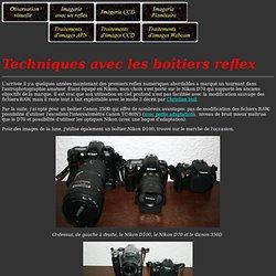 Technique de prise d'images astronomiques avec un APN