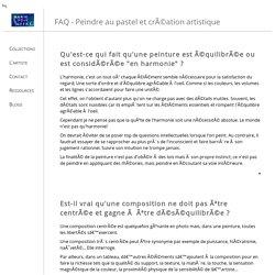Technique du pastel - FAQ sur l'art du pastel