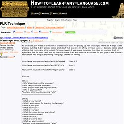 FLR Technique (Lessons in Polyglottery