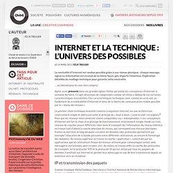 Internet et la technique: l'univers des possibles