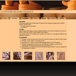 Technique de la poterie : grès, faîence, tournage, séchage, cuisson