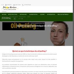 Qu'est-ce que la technique du oil pulling ? – Detox Alcaline : L'art de la Detox au Naturel
