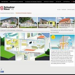 Économiser l'énergie - SchwörerHaus KG