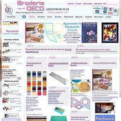 PATCHWORK - BOUTIS apprendre à faire du patchwork - techniques et accessoires - guide technique