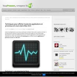Techniques pour afficher toutes les applications et processus en cours dans Mac OS X