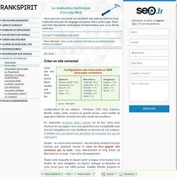 Techniques de base pour créer son site web