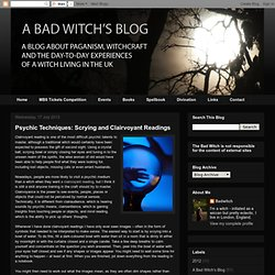 A bad witch's blog: P