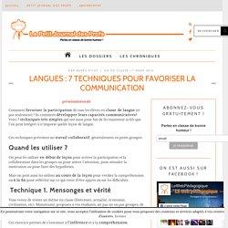 Langues : 7 techniques pour favoriser la communication
