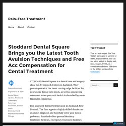Now Free ACC Compensation for Cental Treatment by Latest Tooth Avulsion Techniques