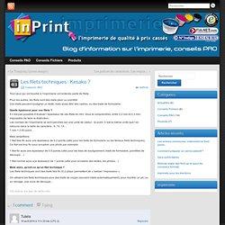 Blog InPrint : Mieux comprendre l'imprimerie et les arts graphiques