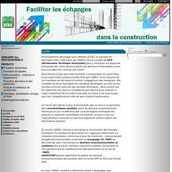Format de données techniques pour la construction : dthx