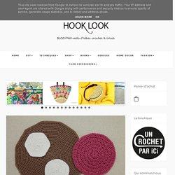 Techniques pour crocheter un rond en mailles serrées et en brides - HOOKLOOK. Méli-mélo d'idées en laine et au crochet.