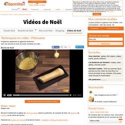 Vidéo cuisine - Recettes de cuisine en video et techniques culinaires - apprendre à mieux cuisiner