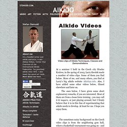 AIKIDO - Video clips - Stefan Stenudd -----