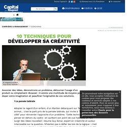 10 techniques pour développer sa créativité