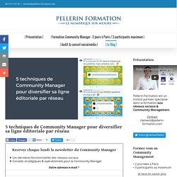 5 techniques de Community Manager pour diversifier sa ligne éditoriale par réseau