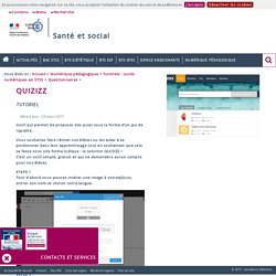 Santé et social - Sciences et techniques médico-sociales / Santé Environnement