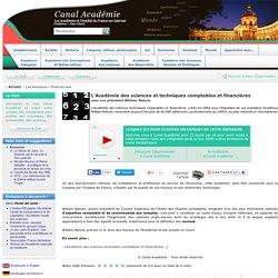 L'Académie des sciences et techniques comptables et financières