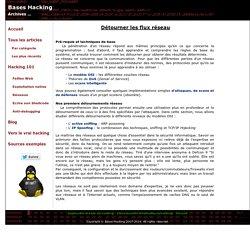 Apprendre le hacking - Techniques de base hacking / sécurité informatique