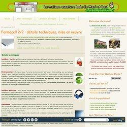 Fermacell 2/2 : détails techniques, mise en oeuvre - Lamaisonboisdenous : la maison en bois de Mari et Bast, son blog