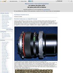 Techniques de photo macro - Premiers tests avec… - Quelques conseils… - macrophotographie