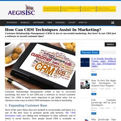 Importance of CRM for Better Sales for Business