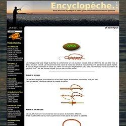 Techniques de pêche - Les noeuds de pêche