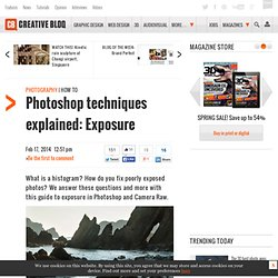 Photoshop techniques explained: Exposure