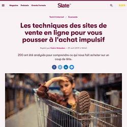 Les techniques des sites de vente en ligne pour vous pousser à l'achat impulsif