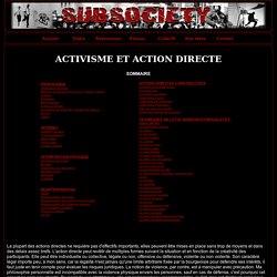 Activisme, action directe et techniques de lutte anarcho-syndica