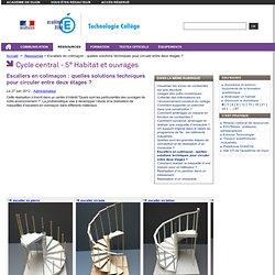 Escaliers en colimaçon : quelles solutions techniques pour circuler entre deux étages ?