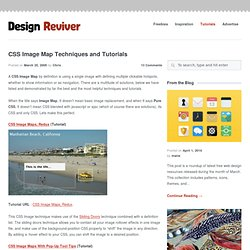 CSS Image Map Techniques and Tutorials