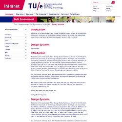 Technische Universiteit Eindhoven: Design Systems