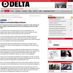 TU Delta - Nieuws: Zijlstra en bonden blijven botsen