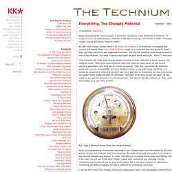 Kevin Kelly -- The Technium