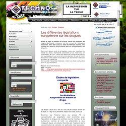 Législations européennes en matière de drogue (mai 2006)