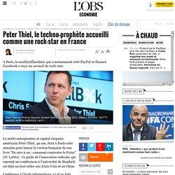 Peter Thiel, le techno-prophète accueilli comme une rock-star en France