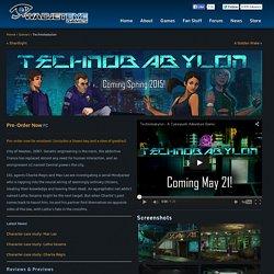 Technobabylon - Wadjet Eye Games