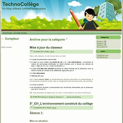 - TechnoCollège