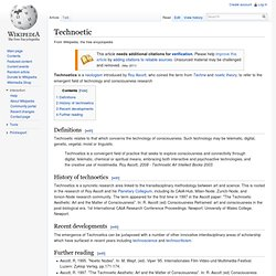 Technoetic