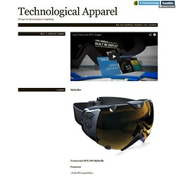 Technological Apparel