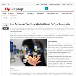 How To Manage Your Technological Needs For Your Corporation – HP laptop showroom in Pakistan, Latest Mobile Phones, & more @