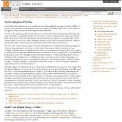 Technological Profile