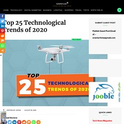 Top 25 Technological Trends of 2020