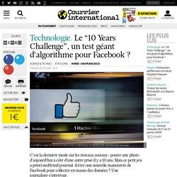 """Technologie. Le """"10 Years Challenge"""", un test géant d'algorithme pour Facebook ?"""