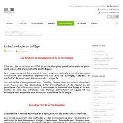 Technologie -Coll ge Jean Bauchez