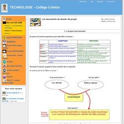CDCF Collège défi robot