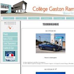 Technologie - Collège Gaston Ramon